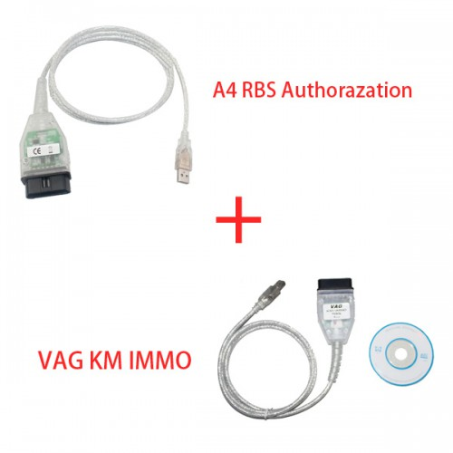 Buy KM+IMMO TOOL for VW Get Free RB8 Authorization for AUDI A4 Plus Authorization for AUDI A4 A5 Q5