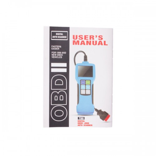 JOBD/OBD2/EOBD Color Display Auto Scanner T80 For Japanese Cars
