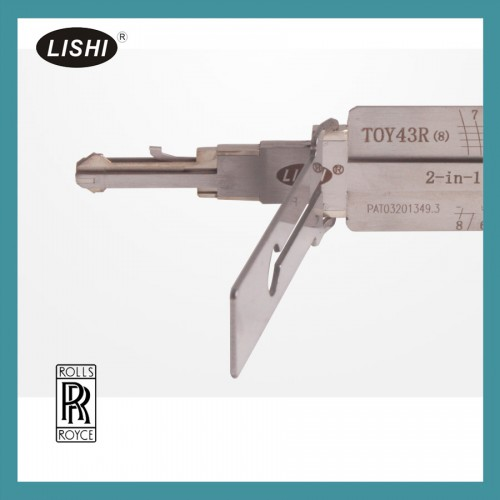LISHI TOY43R 2 in 1 auto pick and decoder  (8 pin )