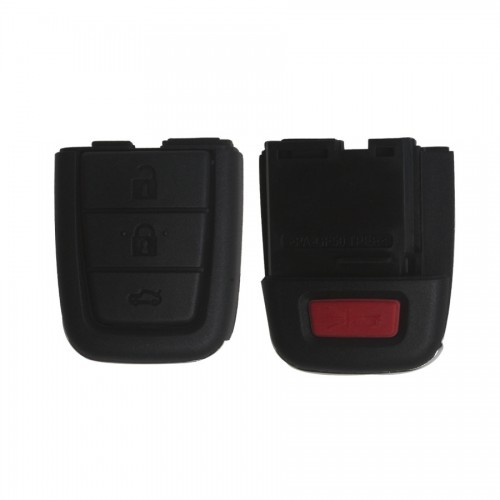 Remote Key Shell 3+1 Button Key Head for Chevrolet 5 pcs/lot