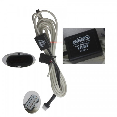 New Autogas USB Interface Cable for 4, 200, 300 LPG