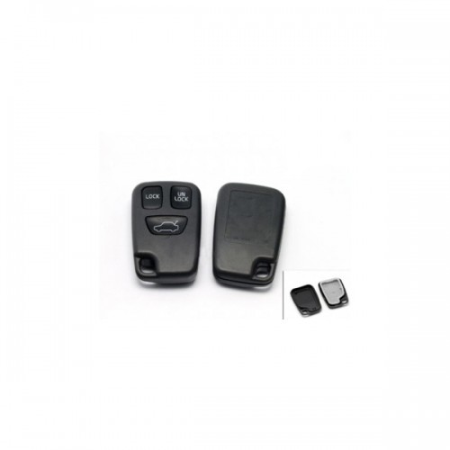 Remote Key Shell 3 Button For Volvo 10pcs/lot Free Shipping