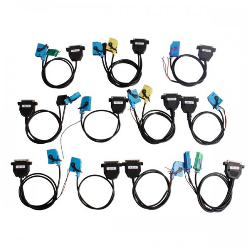 Full Set Cables for Digiprog III Digiprog 3 Odometer Programmer