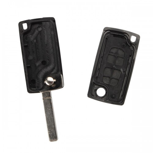 Flip Remote Key Shell 3 Button for Citroen ( light button and without battery location) 5pcs/lot