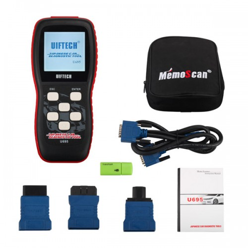 U695 JOBD OBD2 Professional Japanese Car Scan Tool