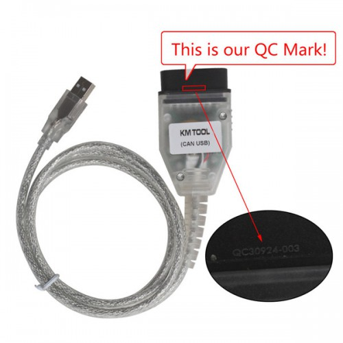 New KM Tool CAN BUS for Ford by OBD2 with 10pcs Xhorse VVDI Super Chips