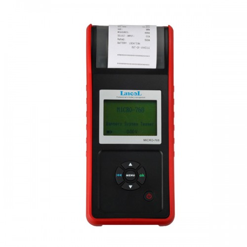 AUGOCOM MICRO-768 Battery Tester Conductance Tester for Automobile Factory/Car Repair Workshop/Car Battery Manufacturer