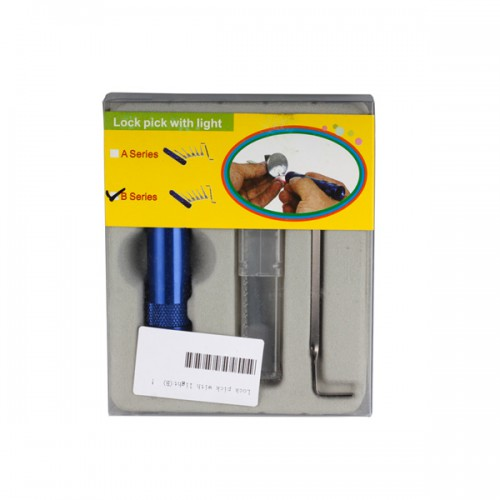 Lock Pick with Light (B) Free Shipping