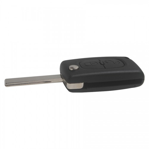 Original Remote Key 2 Button with ID46 Chip For Peugeot 307 Flip
