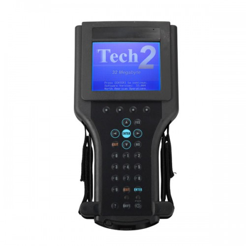 GM Tech2 Diagnostic Scanner For SAAB, OPEL, SUZUKI, ISUZU, Holden with TIS2000 Software Full Package without Carrying Case