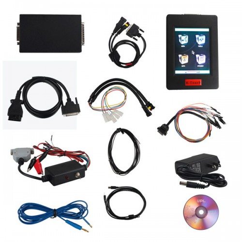Genius & Flash Point K-TOUCH K Touch OBDII/BOOT Protocols ECU Chip Tuning Tool Hand-Held KESS V2 with ECM1.61&Winols 2.24