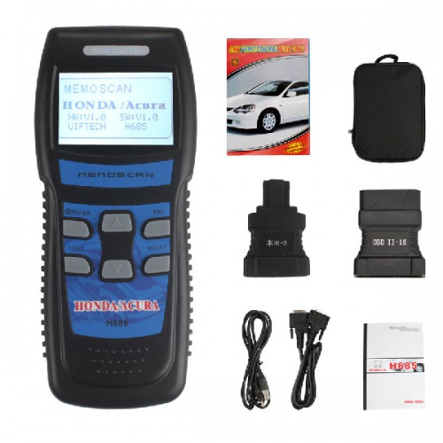 Free Shipping Professional Tool OBD2 Scanner H685 for HONDA/ACURA