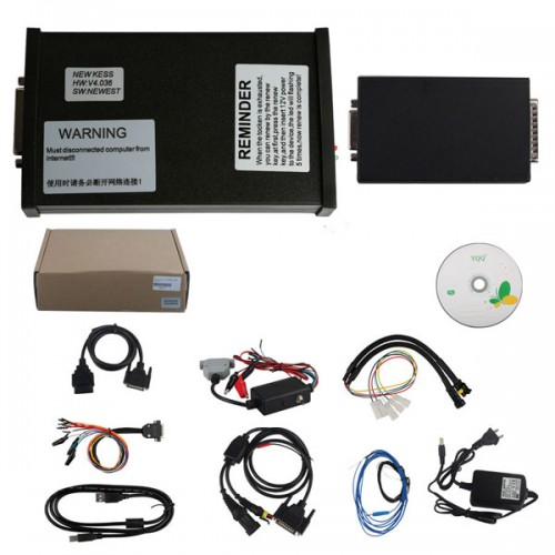 V2.37 KESS V2 Firmware V4.036 Manager Tuning Kit master with Unlimited Token