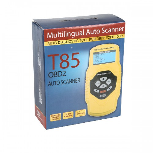 QUICKLYNKS T85 OBDII/EOBD/JOBD Code Scanner for Audi/VW and Japanese Cars