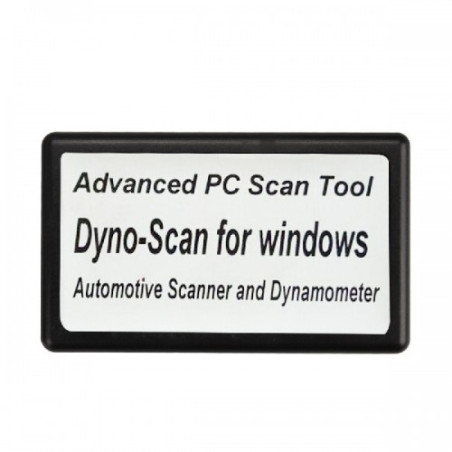 Dyno-Scanner for Dynamometer and Windows Advanced Scan Tool