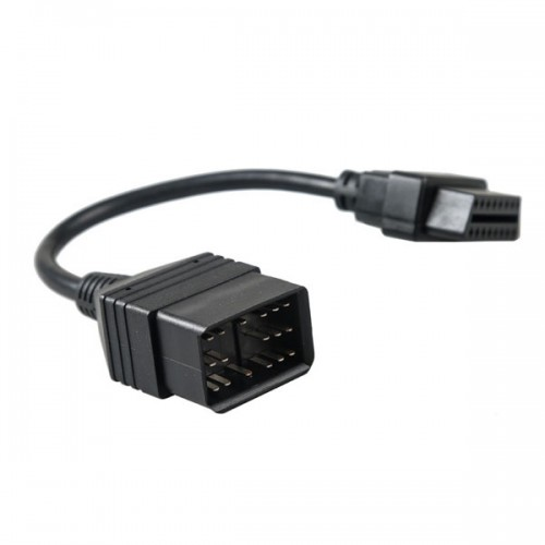 17 Pin to 16 Pin OBD OBD2 Adapter Cable for Toyota free shipping