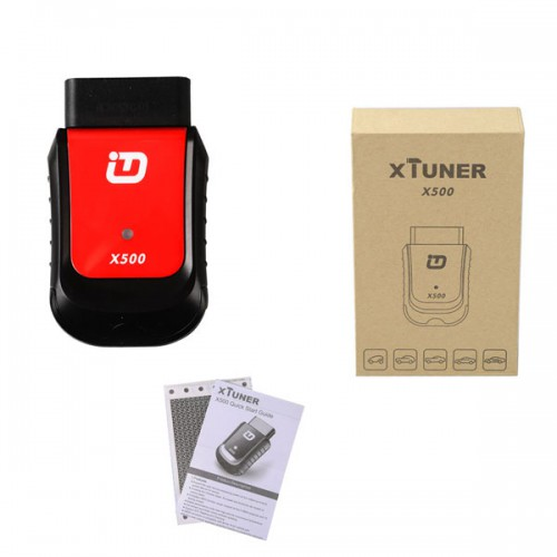 V2.5 XTUNER X500+ X-500 OBDII Scanner Auto OBD2 Special Functions Diagnostic Tool Supports Android OS Ship from US/UK