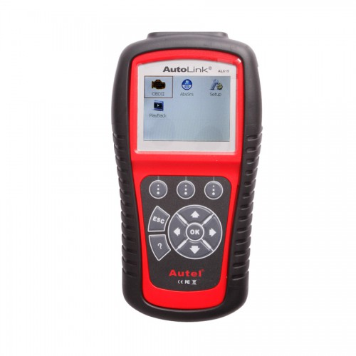 (UK,US Ship No Tax) Autel AutoLink AL619 OBDII CAN ABS And SRS Scan Tool Update Online