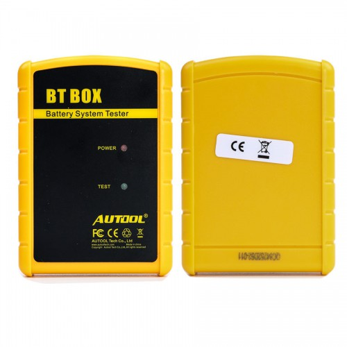 Original AUTOOL BT-BOX Automotive Battery Analyzer Support Android/IOS