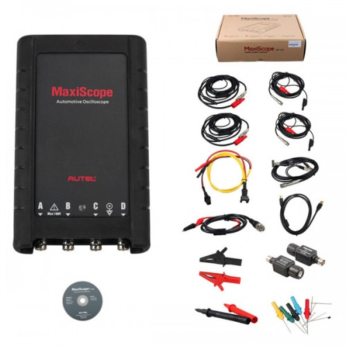 (UK,US Ship No Tax) Autel MaxiScope MP408 4 Channel Automotive Oscilloscope Basic Kit Works with Maxisys Tool