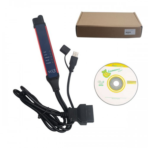 Wifi V2.40.1 Scania VCI-3 VCI3 Scanner Wifi Diagnostic Tool For Scania Truck Supports Multi-language Win7/Win8/Win10