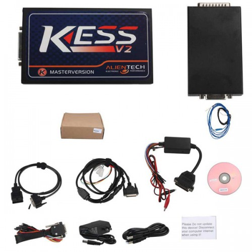 New V2.37 KESS V2 OBD Tuning Kit Master Version No Token Limitation Firmware V3.099