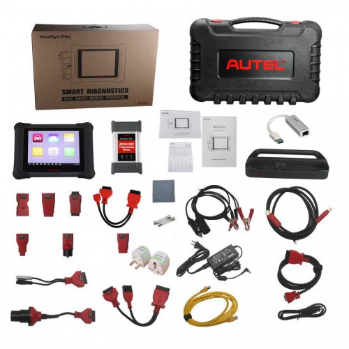 [Apr Sale] [Ship from US] AUTEL MaxiSys Elite with J2534 ECU Programming Box Android O/S with 21 Service Functions 2 Years Free Update