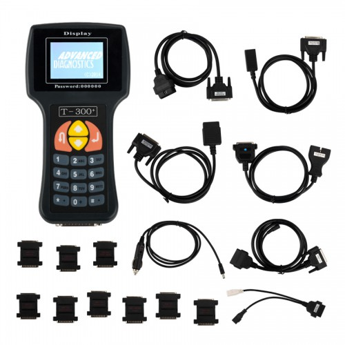 V2017.20.3 T300 T300+ Key Programmer English Version BLACK