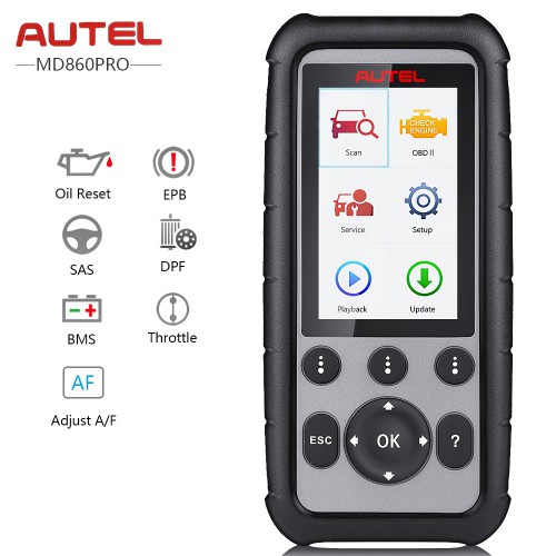 (UK Ship No Tax) Autel MaxiDiag MD806 Pro Full System OBD2 Diagnostic Tool Update Online for Lifetime