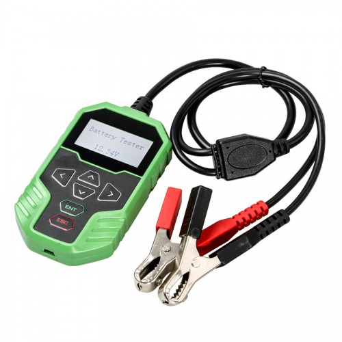 (US,UK Ship No Tax) OBDSTAR BT06 Car Battery Tester Support 12V & 24V Starting and Charging System