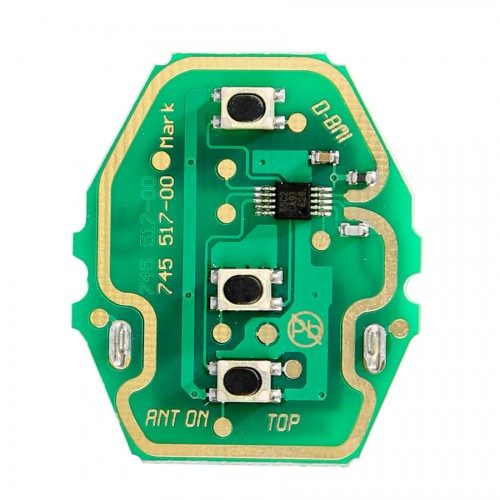 3 Buttons Remote Key Board 433MHZ for BMW (Without Key Shell)