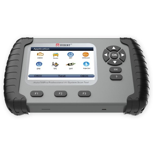 VIDENT iAuto708 Pro Professional All System Scan Tool OBDII Scanner Car Diagnostic Tool