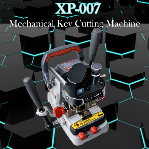 (US,UK Ship No Tax) Xhorse Condor Dolphin XP-007 Manual Key Cutting Machine Supports Laser Dimple Flat Keys