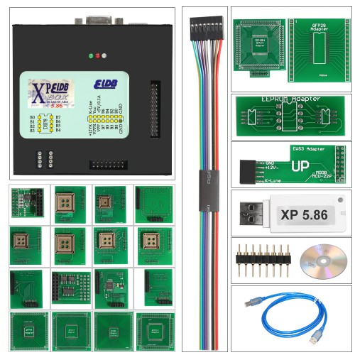 Xprog M 5.84 XPROG-M Box 5.8.4 Xprog Auto ECU Programmer with USB Dongle