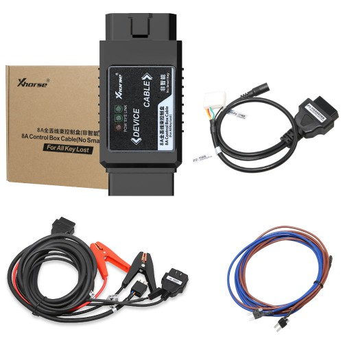(UK, US Ship No Tax) XHORSE Toyota 8A Non-smart Key Adapter for All Key Lost via OBD No Disassembly