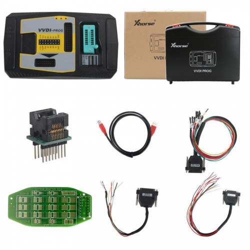 (EU UK US Ship No Tax) Xhorse VVDI-Prog VVDI Prog Programmer Get Free BMW ISN Read Function and NEC, MPC, Infineon etc Chip