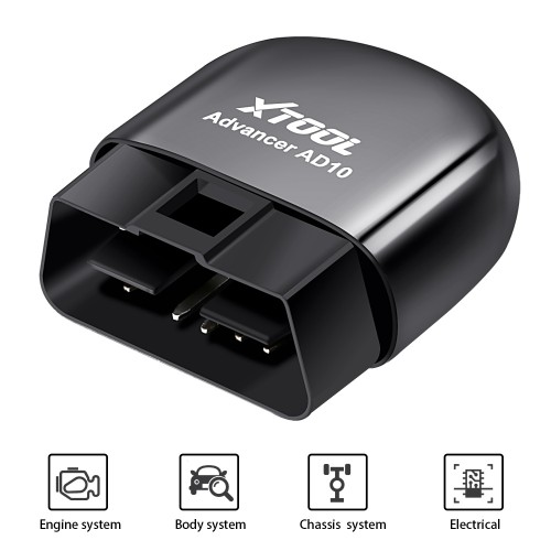 [EU Ship No Tax] XTOOL AD10 OBD2 Diagnostic Scanner Code Reader for Android IOS Windows with HUD Function