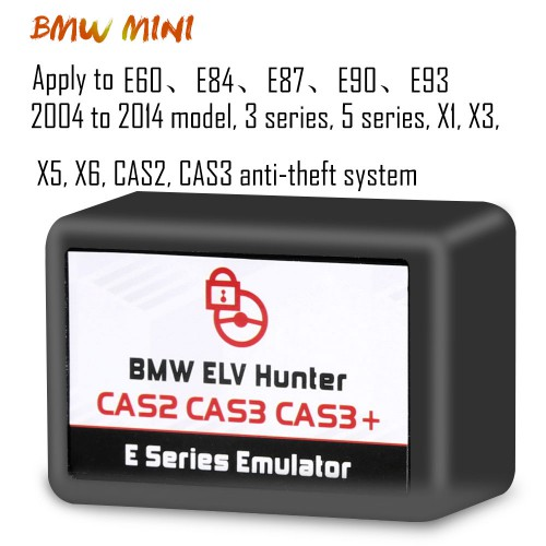 BMW ELV Hunter CAS2 CAS3 CAS3+ E Series Emulator for Both BMW, Mini