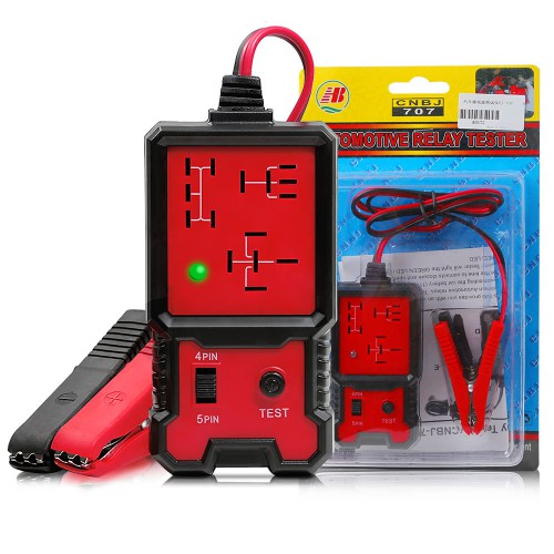 Universal 12V Electronic Automotive Relay Tester Auto Car Diagnostic Battery Checker CNBJ-707