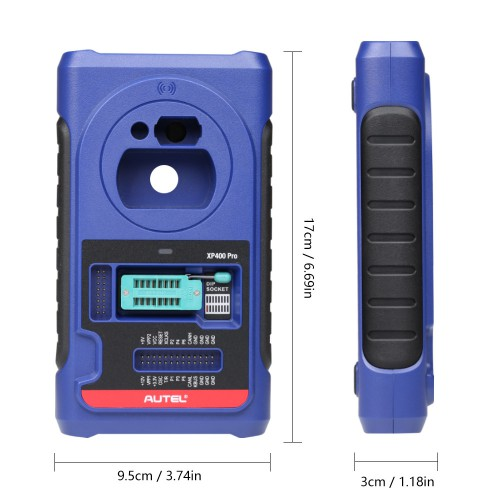 [EU US Ship No Tax] Autel XP400 PRO Key and Chip Programmer can be used with Autel IM508 IM608 IM608PRO IM100 IM600