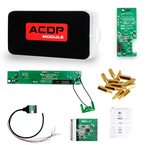 (US Ship) BMW Package Yanhua Mini ACDP BMW CAS1-CAS4+ FEM/BDC ISN Read Free FRM Programming