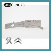 LISHI NE78 2-in-1 Auto Pick and Decoder For Peugeot Free Shipping