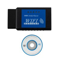 ELM327 OBDII WiFi Diagnostic Wireless Scanner Apple iPhone Touch Software V2.1 Hardware V1.5