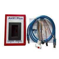 Newest BMW AK91 Plus AK91+ Key Programmer V4.00 for All BMW EWS 1995-2009 Supports EWS4.4