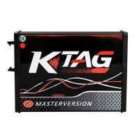 (UK Ship No Tax) KTAG V7.020 Red PCB Firmware K-TAG 7.020 Master Software V2.25 EU Online Version No Tokens Limitation