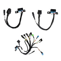 BENZ EIS/ESL Cables+7G Cable+ISM + Dashboard Connector for VVDI MB Tool Free Shipping