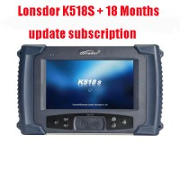 (May Sale) LONSDOR K518S Auto Key Programmer Basic Version plus 18 Months Update Subscription with Odometer Adjustment  Function