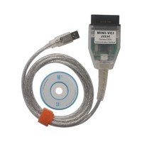 MINI VCI for TOYOTA Single Cable Supports Toyota TIS Techstream V14.20.019 Diagnostic Software