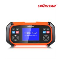 (US Ship No Tax) OBDSTAR X300 PRO3 Key Master with Immobiliser, Odometer Adjustment, EEPROM, PIC, OBDII, EPB+Oil, Service Reset, Battery Matching