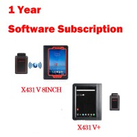 1 Year Online Software Update Service for Launch X431 Gasoline Scanners Launch X431 Subscription Renewal Card